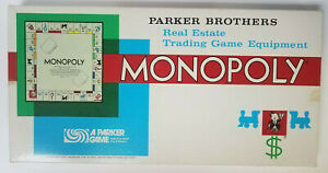 Vintage Monopoly Board Game COMPLETE 1973 Parker Brothers Classic New Parts