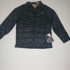 Spyder Mens Coat Black New Size XL Shadow Insulator MSRP $129