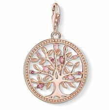 Thomas Sabo Charm CC1700 S/Silver Rose Gold Plated Tree of Life Charm RRP$229