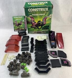 Fisher Price Construx 6202 Darkstar Box Not complete Instruction & extra Alien