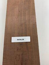"""1/4"""" x 1 1/2"""" x 16"""" Mexican Royal Ebony/Katalox Thin Stock Lumber Boards Wood"""