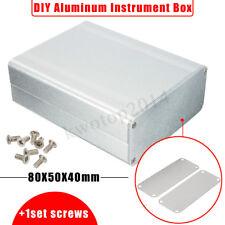 Electronic Split Body Extruded Aluminum Box Enclosure Case Project 110*88*38mm