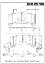 Disc Brake Pad Set-Metallic Pads Front Pronto PMD159