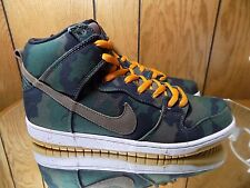 Nike SB Dunk High X Five One O 510 Skate Shop SZ 13 646552 037 Camo Diamond