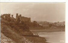 General View & Castle, CONWAY, Caernarvonshire RP
