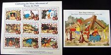 WINNIE THE POOH STAMPS SHEET & SS MNH TIGGER CHRISTOPHER ROBIN DISNEY ST VINCENT