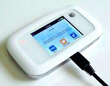 ZTE MF923 Velocity 4G LTE Mobile Wi-Fi Hotspot Device White w/ Power Cord