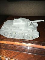 Vintage Marx Compatible Plastic Tank 1950's Made In The USA Repainted Gray!