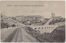 SIENA - PORTA PISPINI (ARCHITETTURA DI MAESTRO MOCCIO) 1906