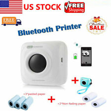 Paperang Portable Mini Wireless Bluetooth Photo Printer Usb+Cap+Receipt Paper