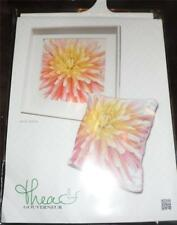 "THEA GOUVERNEUR Counted Cross Stitch Kit - DAHLIA - 13"" x 13"""