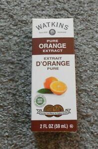 Watkins Pure Orange Extract 2 oz