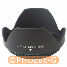 72mm Lens Hood (Screw Mount)  Petal Crown Flower Shape