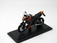 Modell Motorrad 1:18 KTM 690 3 III Duke orange schwarz mit Sockel