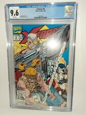 Marvel X-Force #9 Cgc 9.6 White Pages Liefeld Cover 1992 FREE SHIPPING