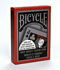 Bicycle Tragic Royalty Playing Cards - Cards glow in the dark under Blacklight!