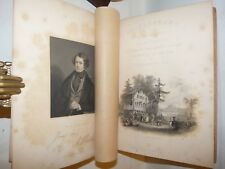 Beattie : SWITZERLAND ILLUSTRATED Bartlett Ritratto SVIZZERA MONTE BIANCO 1839