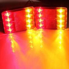 2 Feux arrières LED Lumière lampes camion remorque caravane auto camping-car 12V