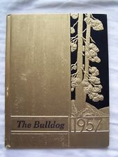 1957 PRIMERO HIGH SCHOOL YEARBOOK  SEGUNDO, COLORADO  BULLDOG