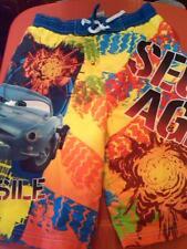 NWT BOYS DISNEY PIXAR CARS SECRET AGENT SWIM TRUNKS BOARD SHORTS SIZE 80