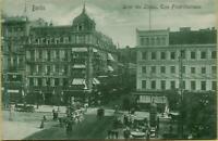 2448: Ansichtskarte Postkarte Berlin Unter den Linden Friedrichstraße 1906