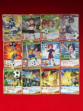 Mix lot of 12 CARDS INAZUMA ELEVEN LEVEL 5 CARD GAME JAPAN