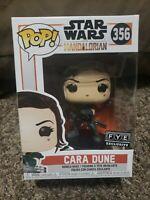 Funko Pop! Star Wars The Mandalorian - Cara Dune #356 FYE Exclusive Sold Out