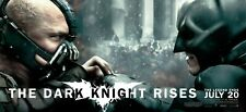 THE DARK KNIGHT RISES BATMAN VS BANE MOVIE POSTER PAPER BANNER ORIGINAL
