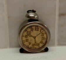 Vintage 1930s ALARM CLOCK Figural PENCIL SHARPENER - GERMANY