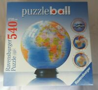 Puzzleball jigsaw puzzle 3D 540 piece - The Earth Globe Ravensburger NEW  SEALED