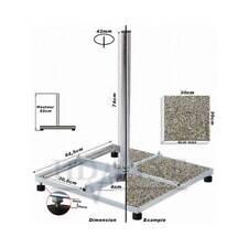 CHASSIS 4 Traverses de 30x30cm - Support pour terrasse fixation balcon stand