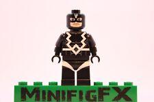 Lego BLACK BOLT Custom Minifig Marvel Super Hero Inhumans Blackagar Boltagon