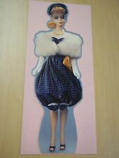 Vintage Hallmark Barbie Gay Parissiene 1959 Greeting Card - Mint