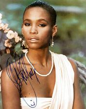Whitney Houston Signed Autographed Reprint 8x10 Photo