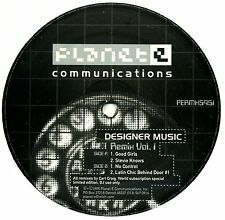 "Designer Music Remix Vol. 1 (NEW SEALED 12"" VINYL)-PERMX5951 Carl Craig Planet E"