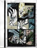 1993 Moon Knight 50 page 36 original Marvel Comics color guide comic art: 1990's