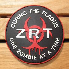 Resident Evil Umbrella ONE ZOMBIE AT A TIME  ZRT 3D PVC Patch