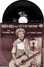 Hayley MIlls Parent Trap Songs 45 Vista LP Music Record Cobbler Collectible