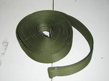 "nylon tow lift strap 1"" wide 20 ft long sling green"
