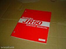MANUEL REVUE TECHNIQUE D ATELIER SUZUKI JR 50 1997-> SERVICE MANUAL JR50