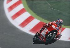 Casey STONER SIGNED Autograph MotoGP 12x8 Photo AFTAL COA DUCATI World Champion