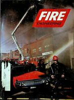 Fire Engineering Magazine February 1974 Kitchener Ontario Tire Shop Fire