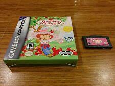 Strawberry Shortcake: Summertime Adventure (Nintendo Game boy Advance, 2006)