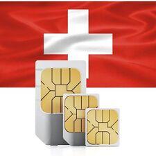 Schweiz Daten SIM + 1000 MB für 30 Tage