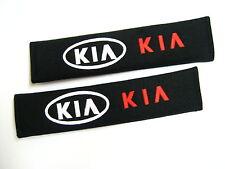 2x Seat Belt Cover Shoulder Pad Cushion For  KIA Rio Sportage Sorento Cerato