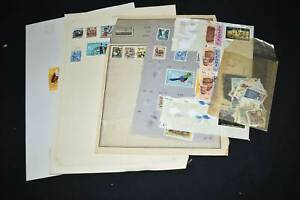 Uganda Selection on Pages etc, 99p Start, All Pictured