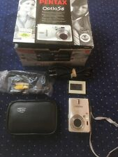 "PENTAX OptioS6 Digital Camera-Aluminum/2.5""LCD Screen/Sound needs Battery-Exc.!"