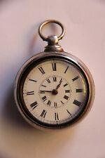 Rare antique key Pocket Watch made of silver