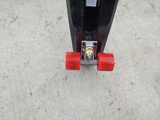 "22"" Plastic Deck Street Skateboard Retro Wave Cruiser Banana penny board black"
