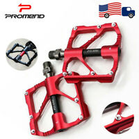 PROMEND Mountain Bike Pedals Sealed 3 Bearing  9/16 inch cycling Pedaling 1 Pair